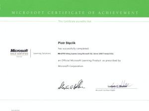 MS-2778 Writing Queries Using Microsoft SQL Server 2008 Transact-SQL